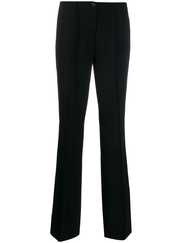 Cambio low-rise straight trousers in black