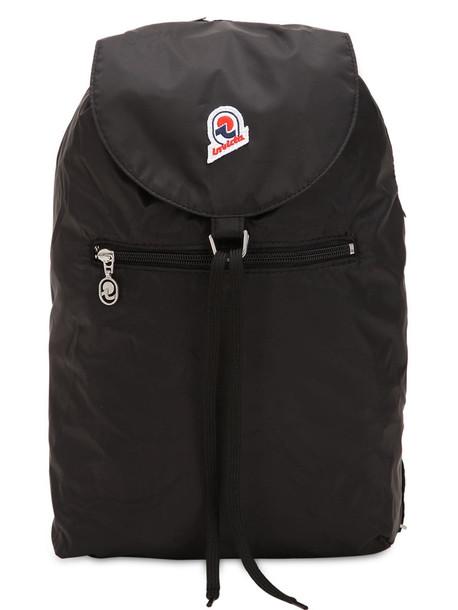 INVICTA Minisac Glossy Backpack in black