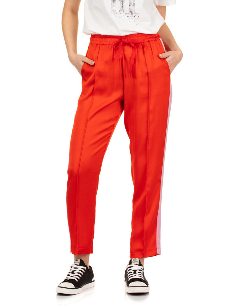 SEMICOUTURE Buddy Pants in red