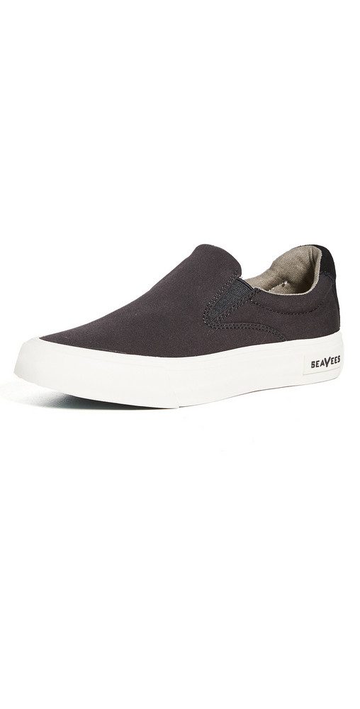 SeaVees Hawthorne Slip On Standard Sneakers in black