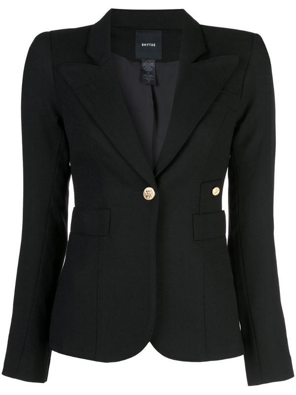 Smythe single breasted blazer in black