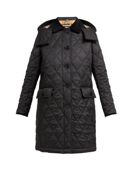 Burberry - Dereham Diamond Quilted Jacket - Womens - Black
