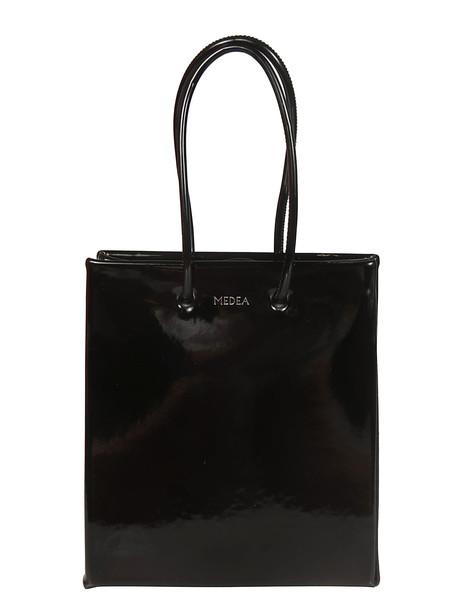 Medea Logo Shopper Bag in nero