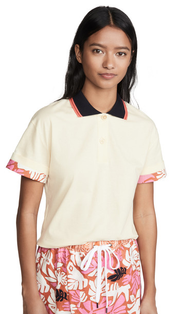 Marni Collared Top in ivory