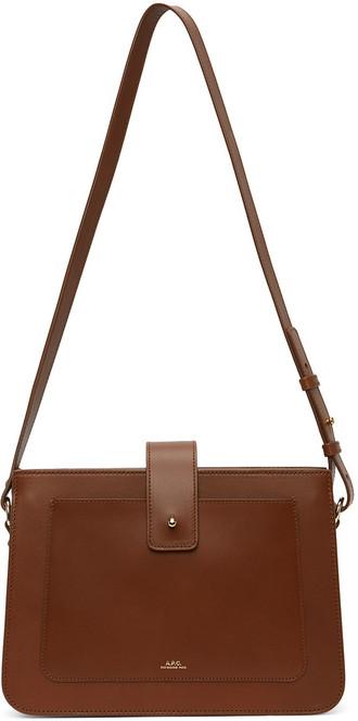 A.P.C. A.P.C. Brown Albane Bag