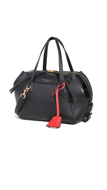 Tory Burch Perry Small Satchel in black