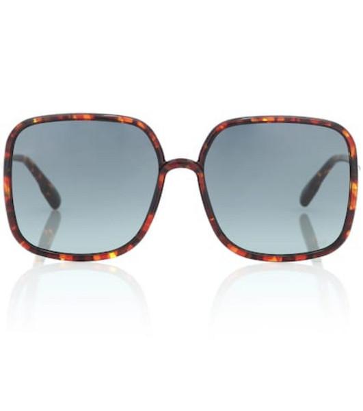 Dior Sunglasses DiorStellaire1 square sunglasses in brown