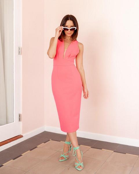 shoes sunglasses dress