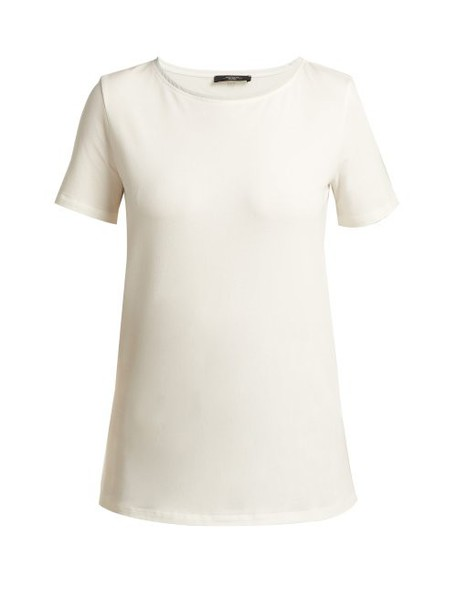 Weekend Max Mara - Multi C T Shirt - Womens - White