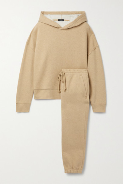 Rails - Nico Kingston Cotton-blend Jersey Hoodie And Track Pants Set - Camel