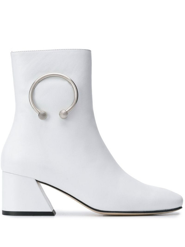 Dorateymur Nizip Re-Edition boots in white