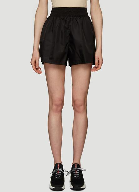 Prada Nylon Shorts in Black size IT - 42