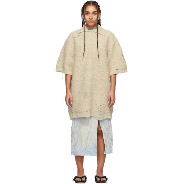 Acne Studios Beige Kodele Polo Dress