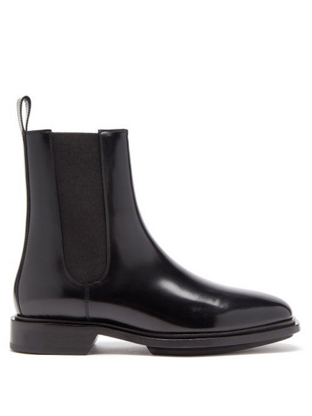 A.P.C. A.P.C. - Charlie Leather Chelsea Boots - Womens - Black