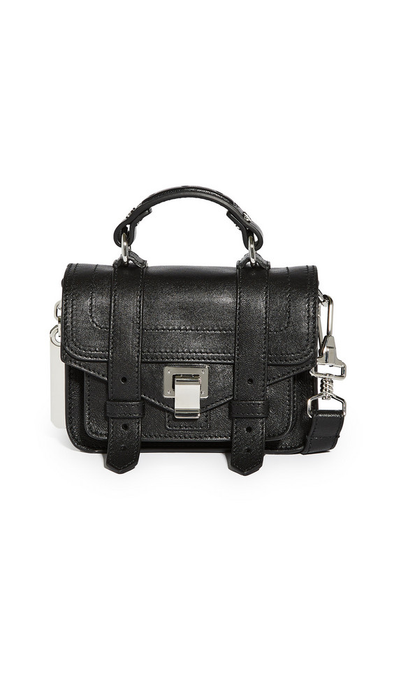 Proenza Schouler PS1 Micro Satchel in black