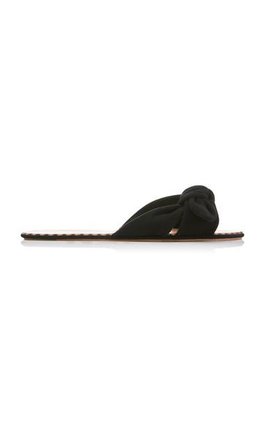 Loeffler Randall Shirley Slide Size: 8.5 in black