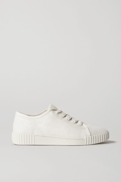 Vince - Wyeth Canvas Sneakers - White