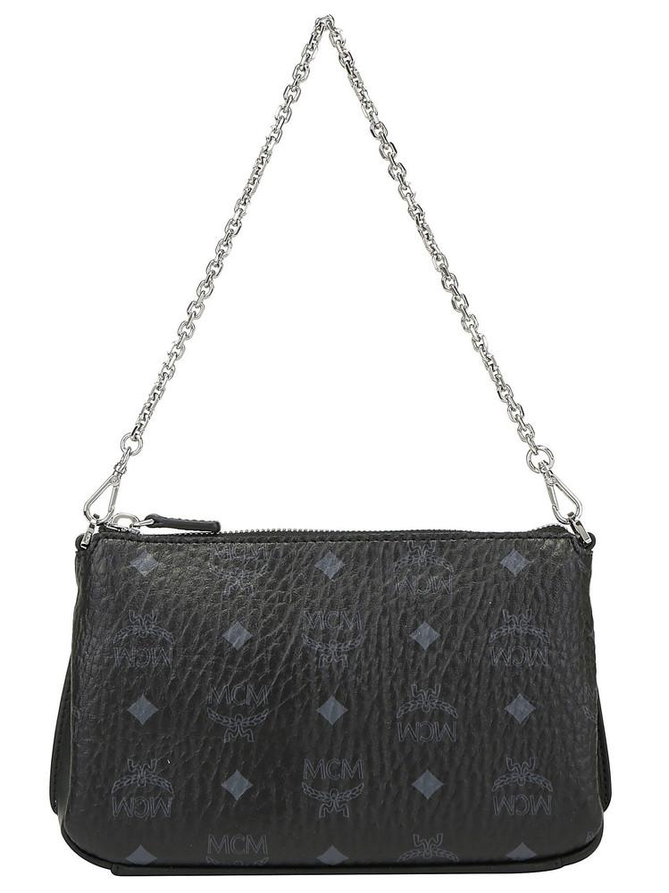 Mcm Millie Medium Crossbody Bag in black
