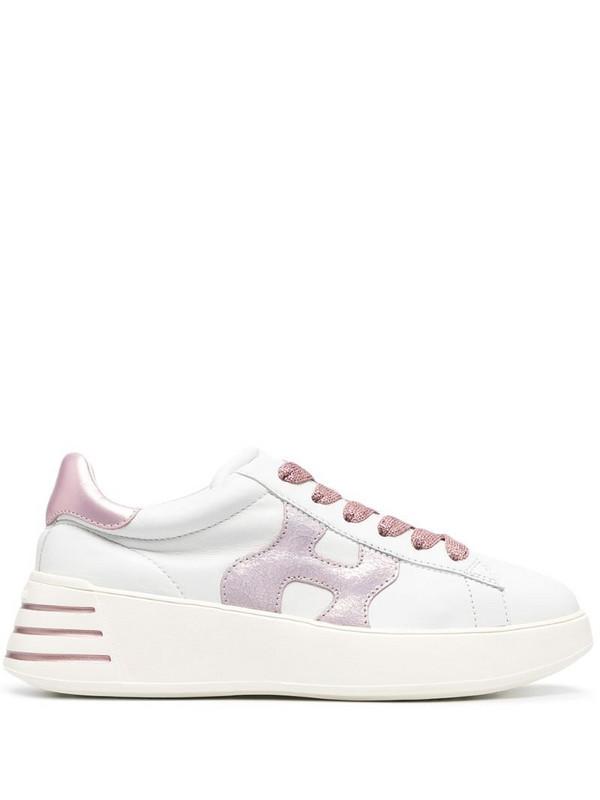 Hogan Rebel low-top sneakers in white