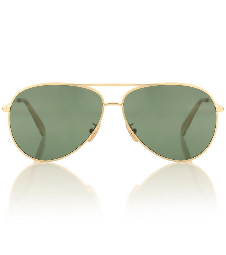 Celine Eyewear Aviator sunglasses in gold
