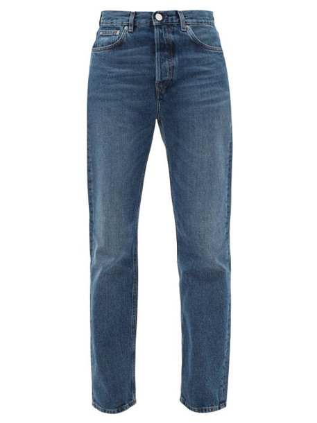 Totême - Mid-rise Straight-leg Jeans - Womens - Denim