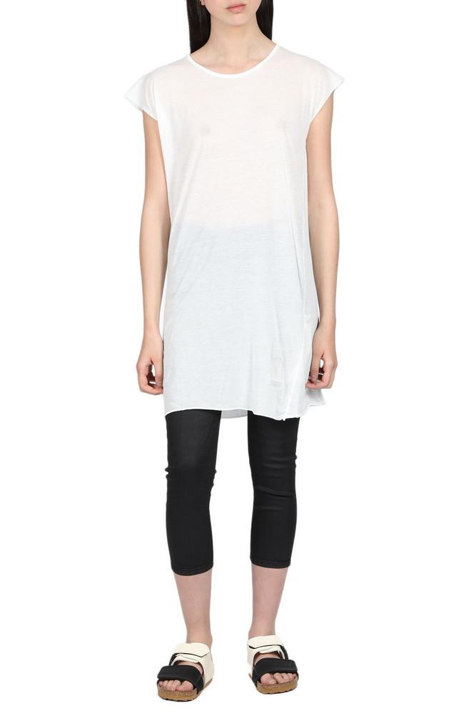 DRKSHDW Short Sleeve T-Shirt in bianco