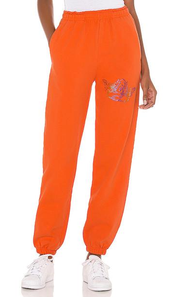 Boys Lie 1-800 Remix Sweatpants in Orange