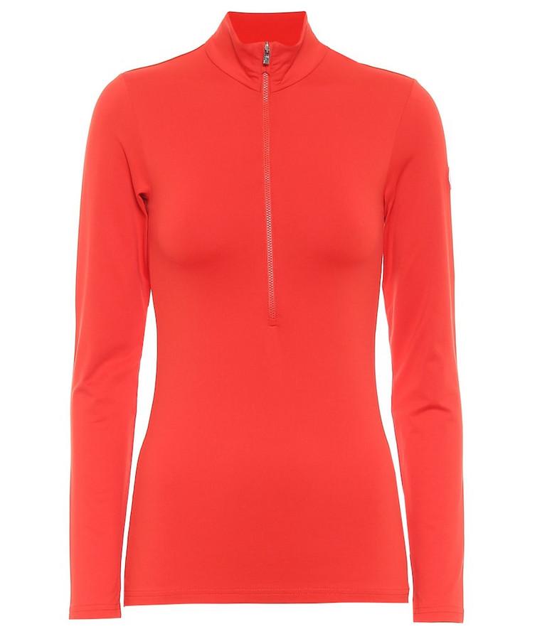 Fusalp Gemini III zipped sweater in red