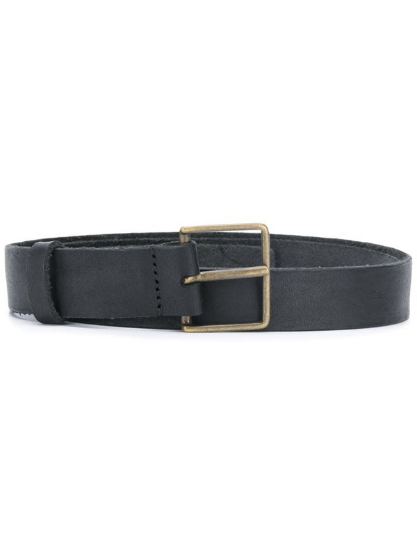 Forte Forte leather buckle fastening belt in black
