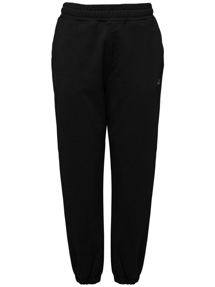 VIVIENNE WESTWOOD Organic Jersey Classic Sweatpants in black