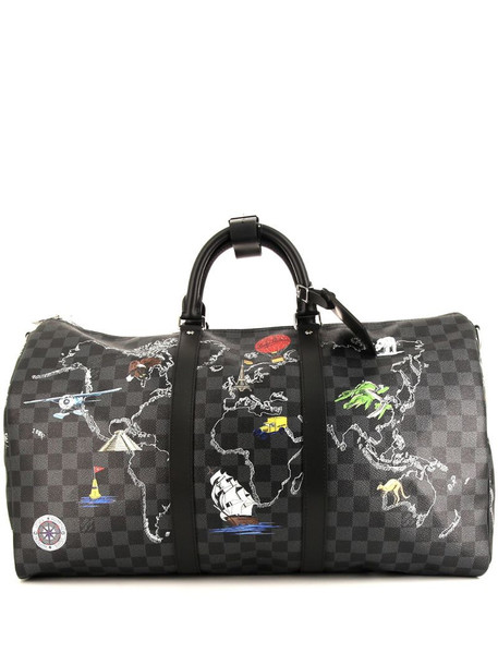 Louis Vuitton pre-owned Keepall 50 travel bag in grey