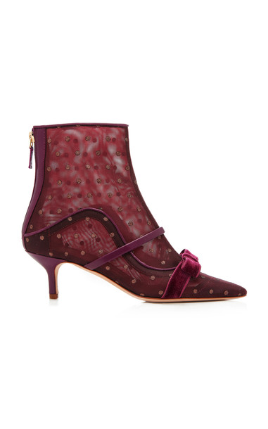 Malone Souliers Claudia Luwolt Boot Size: 37 in burgundy