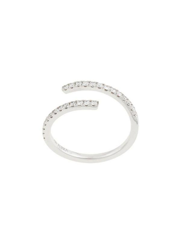 Alinka 18kt white gold ECLIPSE diamond ring in silver