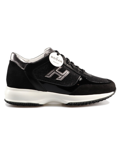 Hogan Interactive Sneakers in nero
