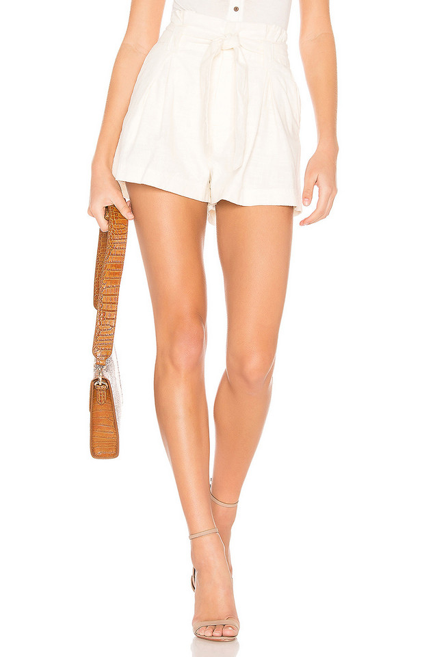 Free People Everywhere You Go Short in white