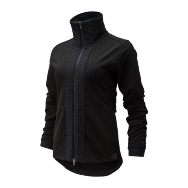 New Balance 93245 Women's Q Speed Winterwatch Jacket - Black (WJ93245BK)