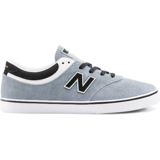 New Balance Quincy 254 Men's Skateboarding Shoes - Grey/Black (NM254REB)