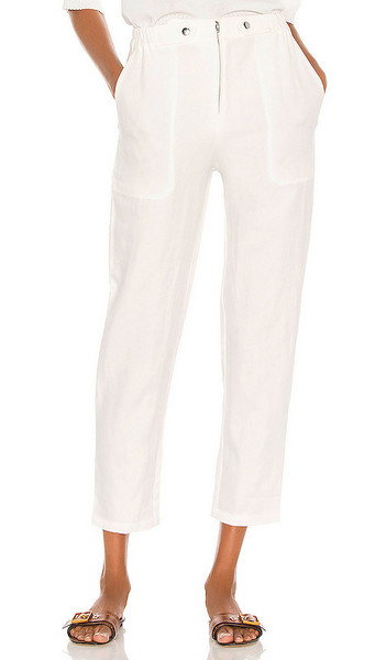 APIECE APART Silvie Jump Pant in White in cream