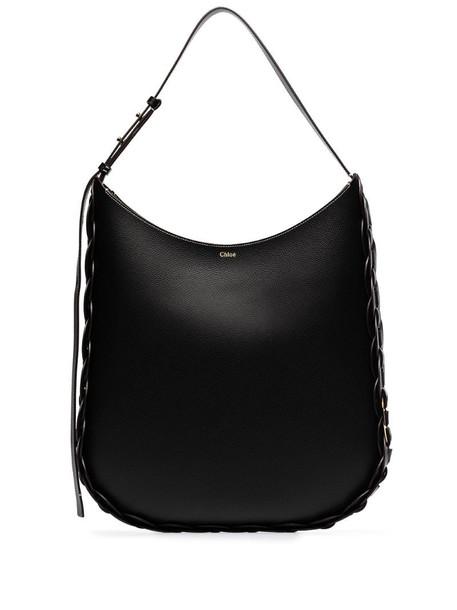 Chloé large Darryl shoulder bag in black