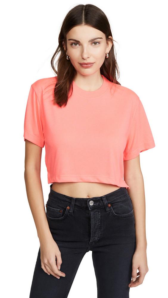 Hanes x Karla The Crop Tee-XK020 in pink