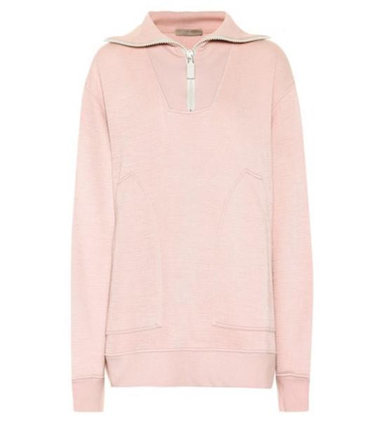 Bottega Veneta Jersey top in pink