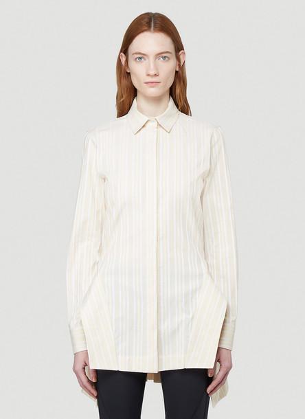 1017 ALYX 9SM Annina Striped Shirt in Beige size IT - 40