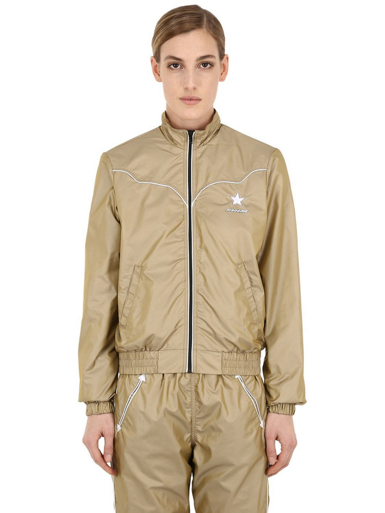 Converse X Mademe Western Track Jacket in taupe