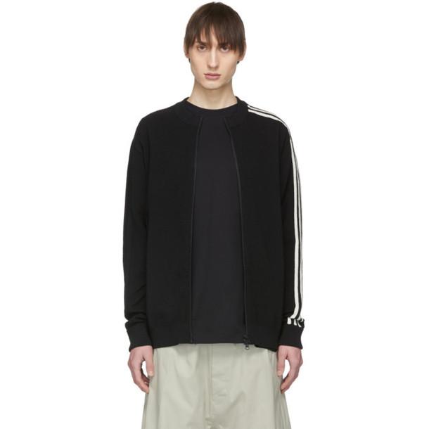 Y-3 Black Knit Track Jacket