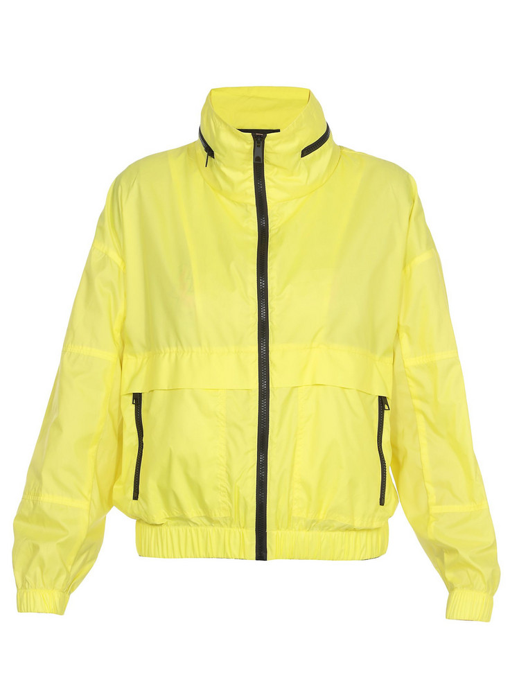 Kenzo Tech Fabric Jacket in yellow