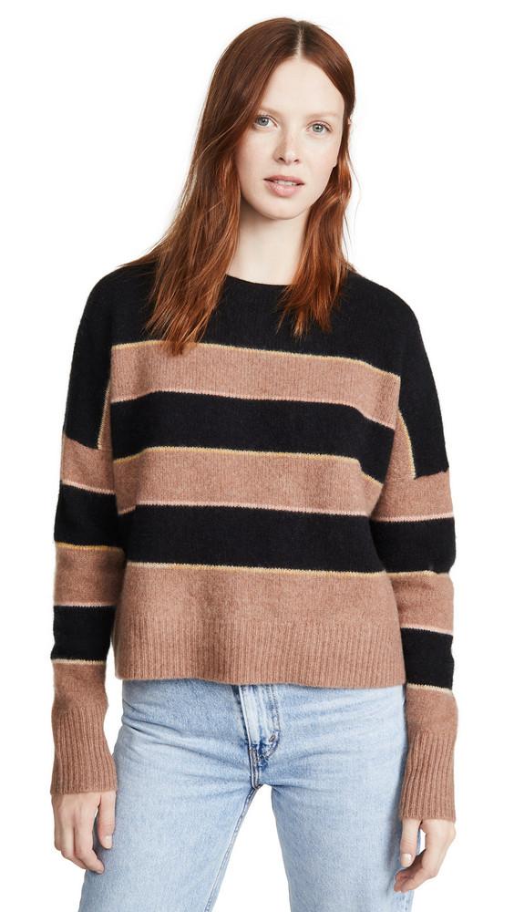 360 SWEATER Abigail Cashmere Sweater in black