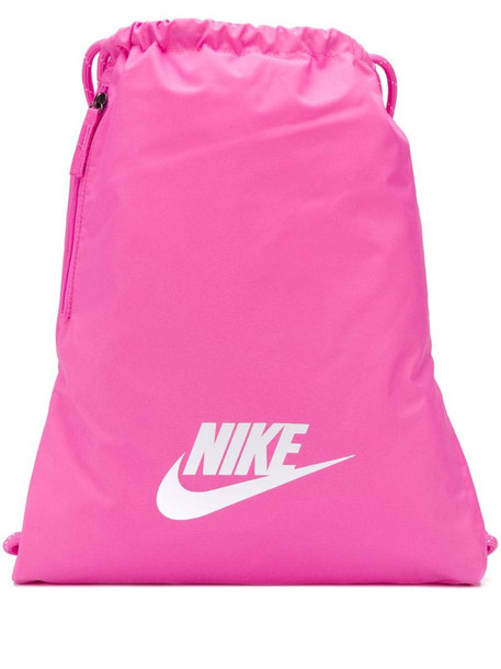 Nike drawstring backpack in pink