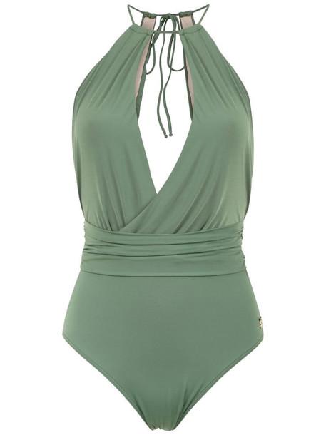 Brigitte Cida swimsuit in green