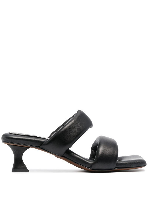 Proenza Schouler puffy square-toe mules in black
