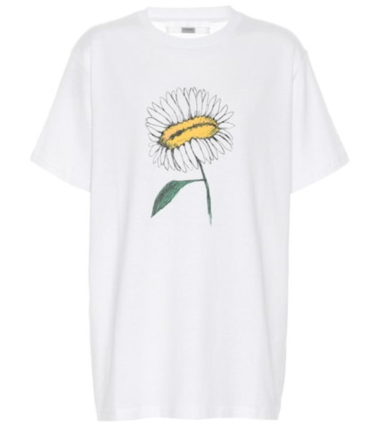 1017 ALYX 9SM Daisy cotton blend T-shirt in white